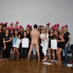 Hen-Party-Group-with-Male-Nude-Model