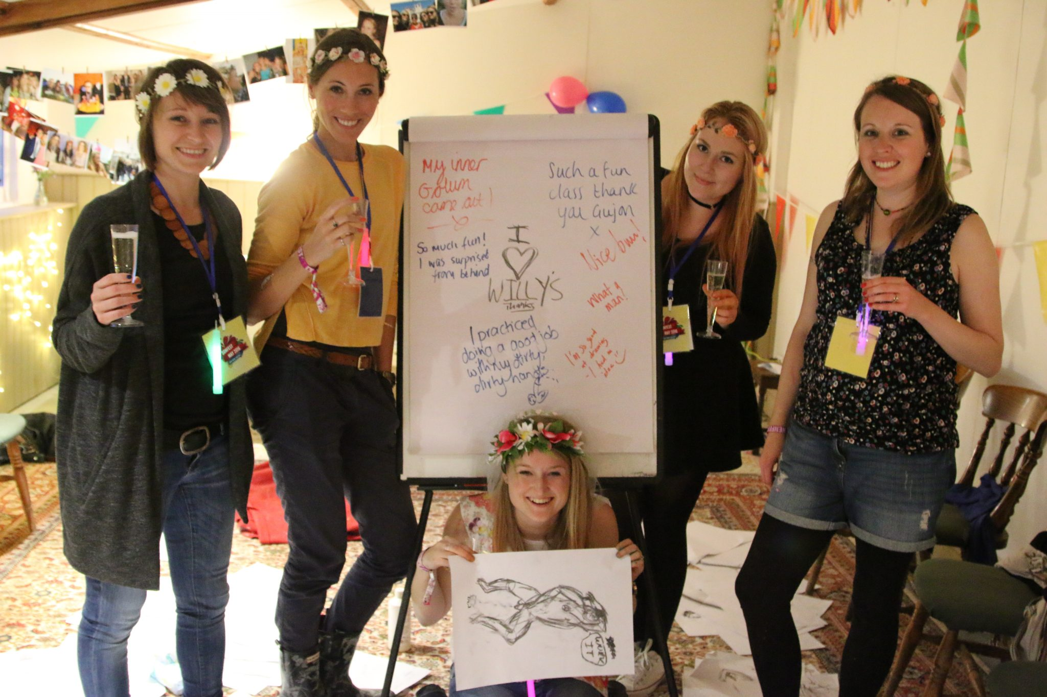 5 Reasons to Choose Arty Hen Party