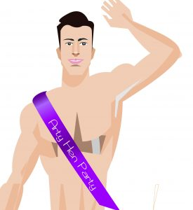A Male Stripper or Life Model for a Hen Party?