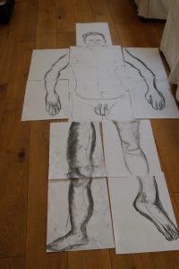 full body drawing