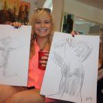 enjoying hen party sketches