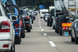 congested motorway